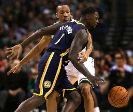 Bradley tried to slow down Stephenson.