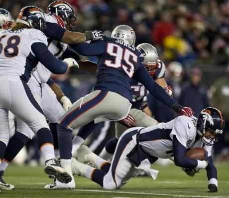 Chandler Jones sacked Manning for a 10-yard loss.