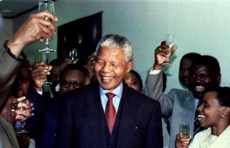 He was a corecipient of the 1993 Nobel Peace Prize and was elected president of South Africa in 1994.