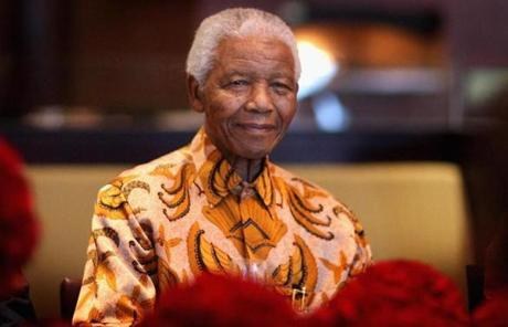 Former South African President Nelson Mandela died at the age of 95 in the company of his famil