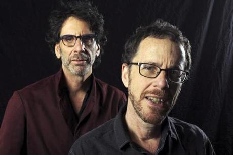 Joel (left) and Ethan Coen.