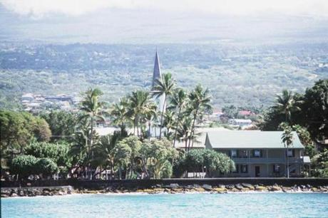 Kailua-Kona, Hawaii (below), was the top US pick.