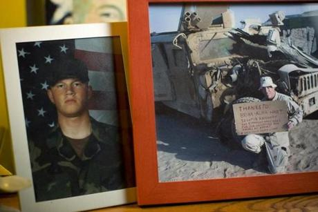 Private First Class John D. Hart died when his unit was ambushed in Iraq in 2003.