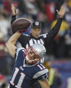 Julian Edelman celebrated his 2-point conversion.