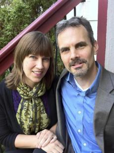 Christopher Lubienski and his research partner and wife, Sarah.