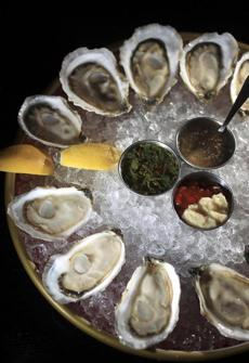 Oysters at Row 34.