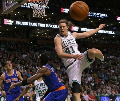 The game marked Olynyk's return to the court after a sprained ankle.