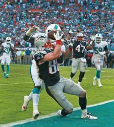 Amendola dropped a potential game-winning touchdown.