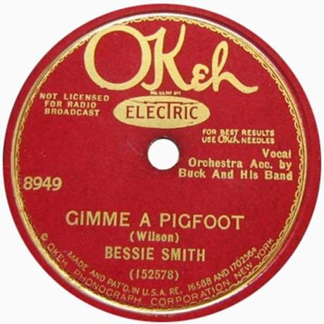 """Gimme A Pigfoot"" by Bessie Wilson."