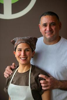 Susan and Souren Etyemezian opened their Fastachi nut shop in 1990.