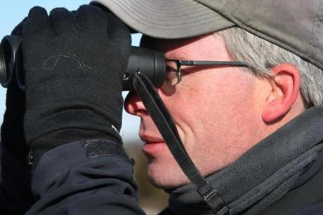 Birdwatcher Neil Hayward of Cambridge said he observed 749 different bird species in 2013, the last coming in the weekend before the new year.