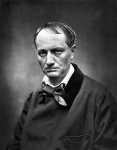 """Portrait of Charles Baudelaire"" from the book ""Instant Connections"""
