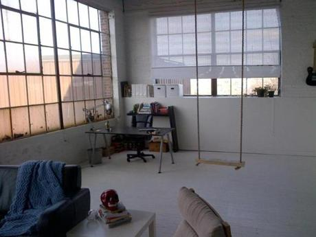 An old factory houses space for artists.
