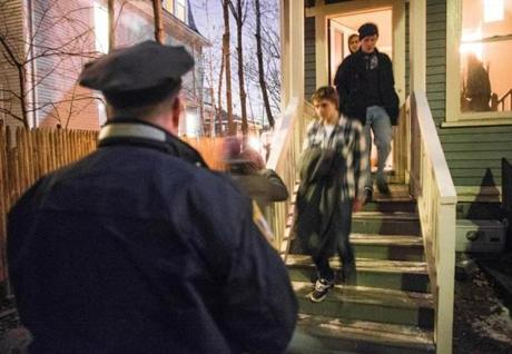 Boston Police Sergeant Michael C. O'Hara breaks up a large, alcohol-fueled party in Allston where overcrowding -- and the health and safety issues that accompany it -- are chronic concerns.