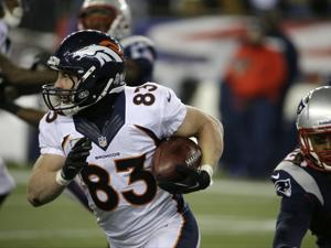 Wes Welker eludes Kyle Arrington during the teams' first meeting this season, in Week 12. (AP Photo/Stephan Savoia)