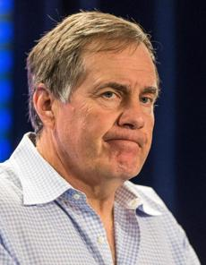 Bill Belichick spoke Monday, a day after the Patriots' loss in Denver.