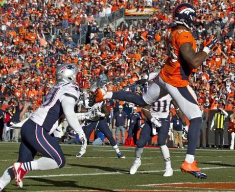 Demaryius Thomas beat Alfonzo Dennard for a touchdown in the third quarter.