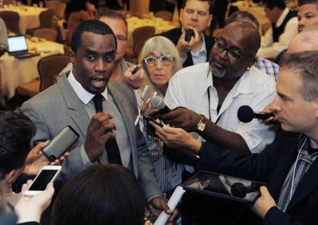 "Sean ""Diddy"" Combs founded the music channel REVOLT to target millennials with original programming."