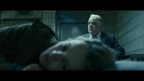 "Rachel McAdams and Philip Seymour Hoffman in ""A Most Wanted Man,"" directed by Anton Corbijn."