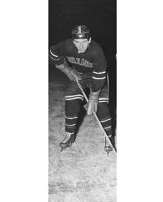Northeastern hockey player Bob Purcell.