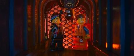 Wyldstyle (Elizabeth Banks), Batman (Will Arnett), and Emmet (Chris Pratt).
