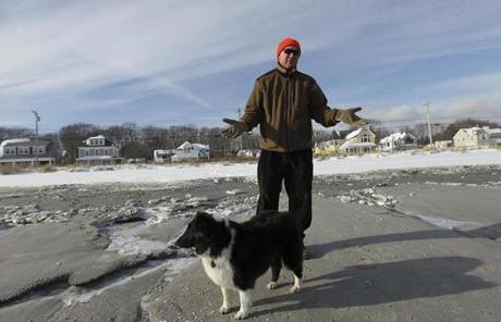 """Now that they've won, all bets are off,"" said Wesley Phillips, 71, who walks the entire length of the beach most days."