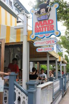 The Mad Batter, attached to the Carroll Villa Hotel, serves hearty breakfasts of waffles and more.