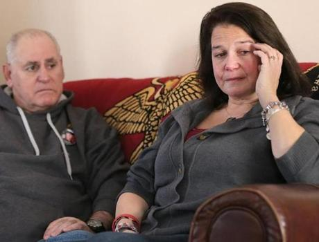 Lisa and Rolando Rodriguez of Fairhaven learned on Dec. 11 of the death of their son, Matthew.