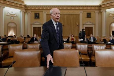IRS Commissioner John Koskinen testified on Capitol Hill before a House Ways and Means subcommittee.