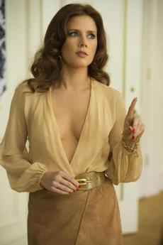 "Amy Adams thanked Milne for keeping her ""American Hustle"" costumes in line."