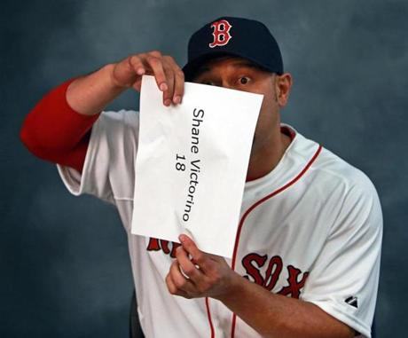 Shane Victorino had some fun.