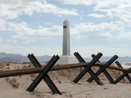 """Border Monument, No. 227."""