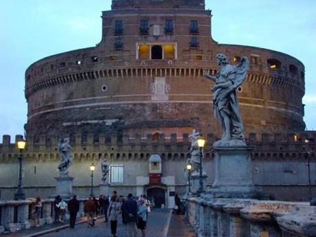 Castel Sant' Angelo was once a tomb, a fortress, a prison.