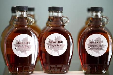 Moose Hill Wildlife Sanctuary Maple Syrup