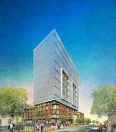 Developer's vision for 40 Thorndike St.