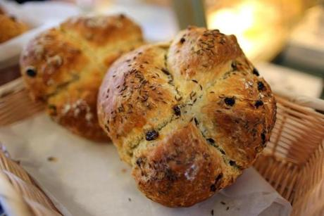 Greenhills Irish Bakery's soda bread.