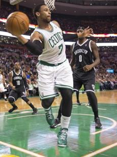 Jared Sullinger saved the ball from going out of bounds in second-quarter action.