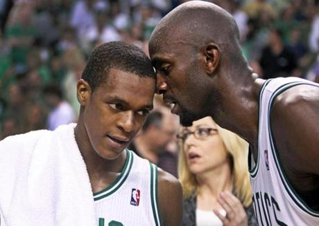 Part of Rondo's approach can be traced back to his former teammate, Kevin Garnett.