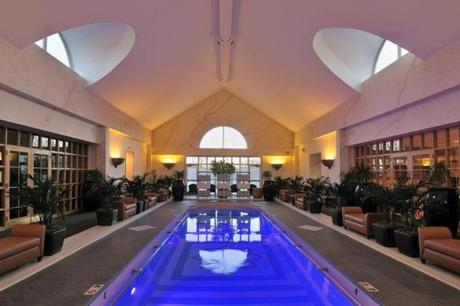 Spa at Norwich Inn is set on 42 acres with an indoor pool, among other amenities.