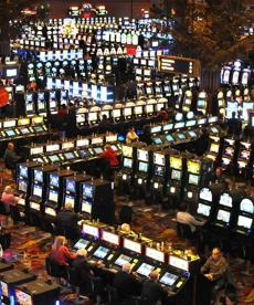 Many of Twin River Casino's patrons travcl to Rhode Island from Massachusetts.