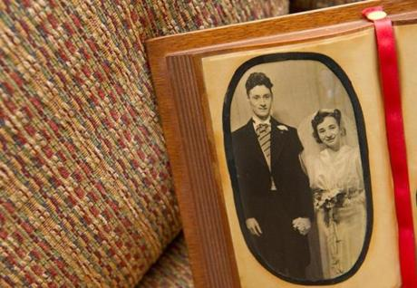 Dorothy and Cameron Forbes were married on Jan. 21, 1939.