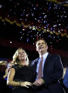 "On election night, Walsh called Higgins ""the love of my life and my best friend."""