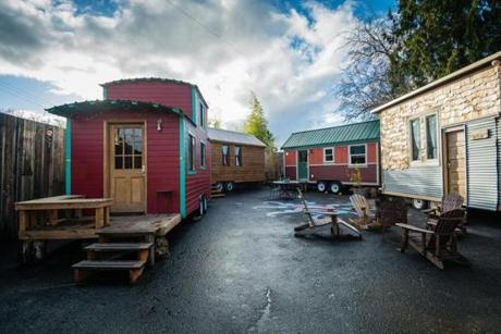 For a unique experience, travelers to Portland can check in at the recently opened Caravan.