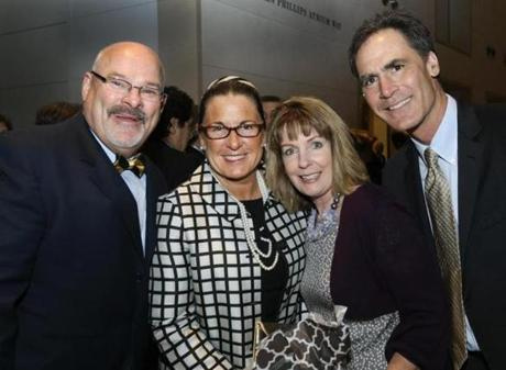 From left: Brian and Michelle McCarthy of Beverly with Martha and Chuck Holden of Peabody.