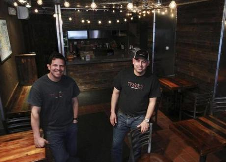 Andres (left) and Alvaro Sandoval also own the original Tenoch Mexican in Medford.