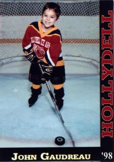 Even at age 5, Johnny Gaudreau had the look and style of an old pro.