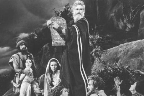 "Old Hollywood courted the faithful with ""The Ten Commandments."""