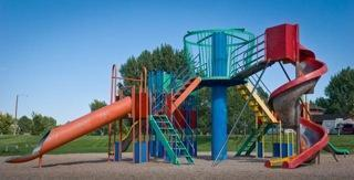 A play structure in Pueblo, Colo.