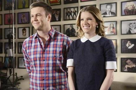 Anna Kendrick and Taran Killam.