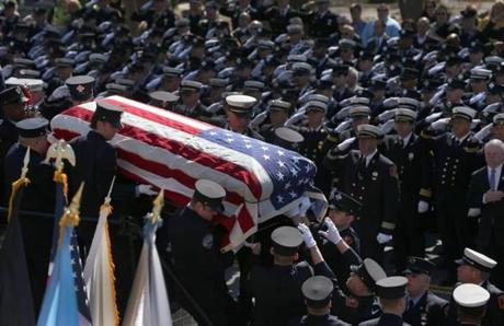 Michael Kennedy Funeral Funeral for boston firefighter